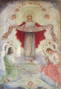 Образ Покрови Богородиці, 1920-ті рр. Київщина