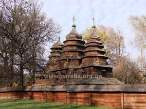 Бойківська школа. Миколаївська церква, 1761, с. Кривка, Львівщина