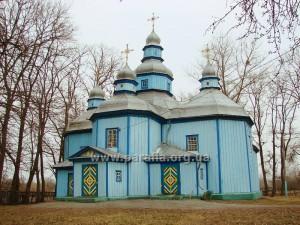 Покровська церква, 1746, с. Горбулів, Житомирщина