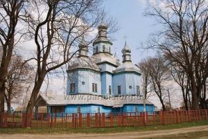 Сіверсько-чернігівська школа. Микільська церква, 1732, с. Новий Ропськ, Росія