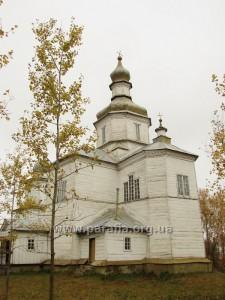 Успенська церква, 1765, с. Волосківці, Чернігівщина