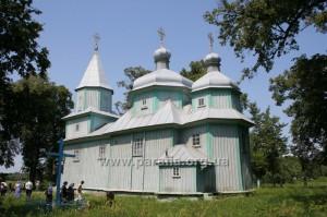 Георгіївська церква, 1743, с. Сіянці, Рівненщина
