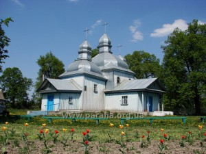 Київська група. Покровська церква, 1758, с. Кожанка, Київщина