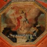 Воскресіння Христове. Ікона святкового ряду іконостасу, сер. ХVІІІ ст.