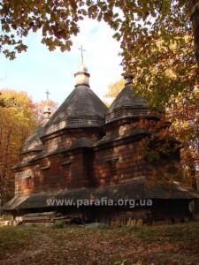 Центральна група. Церква св. Параскеви, 1822, с. Стоянів, Львівщина