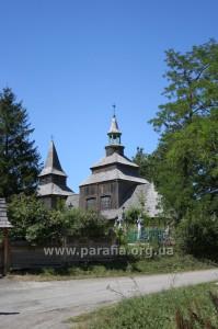 Архаїчна група. Святодухівська церква, 1598, м. Рогатин, Івано-Франківщина