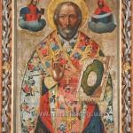 Св. Миколай. Ікона намісного ряду іконостасу, поч. ХVІІІ ст.