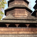 Емпора (галерея) над бабинцем - нечастий елемент бойківських храмів