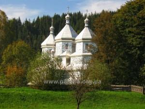 Вижницька група. Михайлівська церква, 1938, с. Яблуниця, Чернівецька область