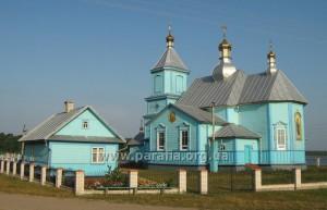 Церква Казанської Божої Матері, 1801, с. Піща, Шацький р-н, Волинь