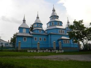 Покровська церква, 1923 --- 1928, архітектор Сергій Тимошенко, с. Бронники, Рівненщина