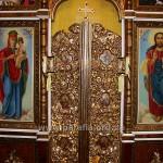 Царські врата, можливо, сучасні церкві