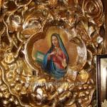 Фрагмент царських врат («Благовіщення», права ікона)