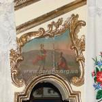 Св. Архистратиг Михаїл та Ісус Навин. Ікона над північними дияконськими дверима