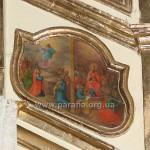 Вознесіння Господнє і Зішестя Святого Духа. Подвійна ікона святкового ряду іконостасу