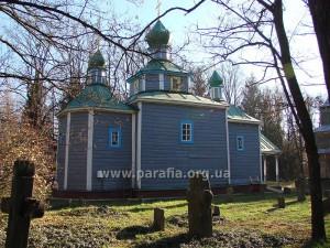 Покровська церква, с. Острійки