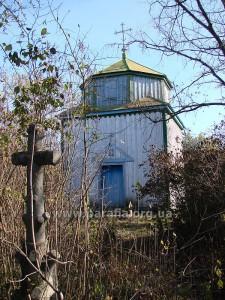 Цвинтарна каплиця, с. Щербаки