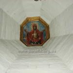 Склепіння нави із розписом «Покрова Пресвятої Богородиці»