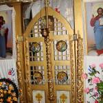 Царські врата, ХХ ст. А колонки - ХVІІІ-е!