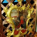 Св. ап. і єв. Лука. Фрагмент Царських врат