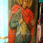 Св. Архистратиг Михаїл. Північні дияконські врата