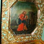 Зустріч Марії і Єлизавети. Ікона і декор цокольного ряду