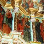 Апостольський і пророчий ряди, південний бік іконостасу