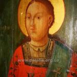 Св. архидиякон Стефан. Фрагмент південних дияконських врат