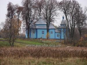 Воздвиженська церква, с. Кам'яний Брід