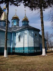 Михайлівська церква, с. Гадзинка