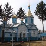 Церква з північного боку. ХVІІІ ст. іззовні майже не проглядається...