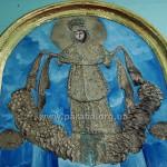 Покрова пресвятої Богородиці. Після останньої «реставрації» вік ікони вже не визначити. Але композиція - чудова.