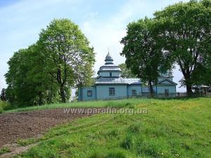 Миколаївська церква, с. Левковичі