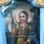 Св. архангел Гавриїл на південних дияконських вратах