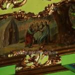 Учта Авраама (Старозавітня Трійця). Ікона дуже рідкісного додаткового ряду іконостасу