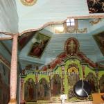 Вигляд церкви із хорів