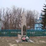 Пам'ятний хрест родині Соколовських та всім героям-горбулівцям