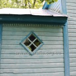 Вікно західного зрубу (притвору)