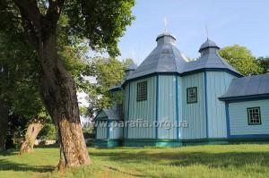 Церква св. мц. Параскеви Сербської, с. Рясне