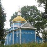 Борисоглібська церква, с. Шклинь (нині спотворена ремонтом до невпізнанності)