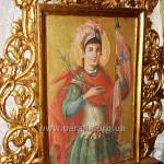 Св вмч. Димитрій Солунський. Виносна двобічна ікона Дмитрівської церкви, с. Уїздці