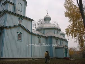 Михайлівська церква, с. Милятин