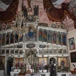 Іконостас - одночасний із храмом. Розписи трохи пізніші