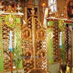 Царські врата із чотирма, а не із шістьма медальйонами - часте явище на Галичині