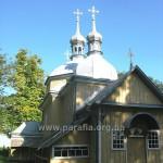Церква із західного боку. Тамбур не вписується - в прямому і непрямому значенні