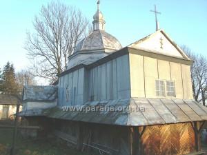 Церква Різдва Пресвятої Богородиці, с. Чижів