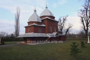Церква Собору Пресвятої Богородиці, с. Гостинцеве