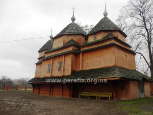 Богоявленська церква, с. Лисовичі