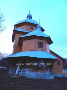 Миколаївська церква, с. Грушів