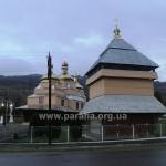 А це те, що лишилося від церкви Різдва Пресвятої Богородиці і дзвіниці у селі Бусовисько...